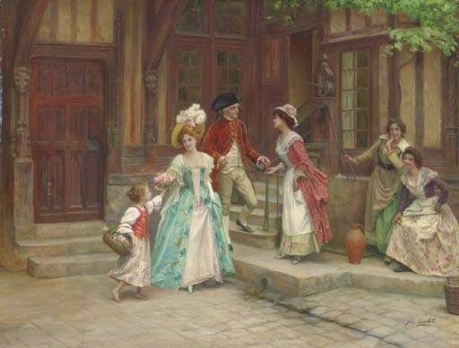 Jules Girardet (French, 1856-1946)