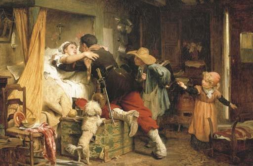 Marcus Stone, R.A. (British, 1840-1921)