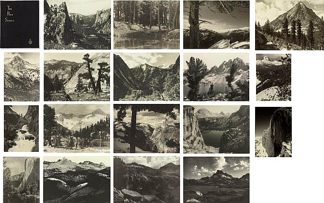 Parmelian Prints of the High Sierras