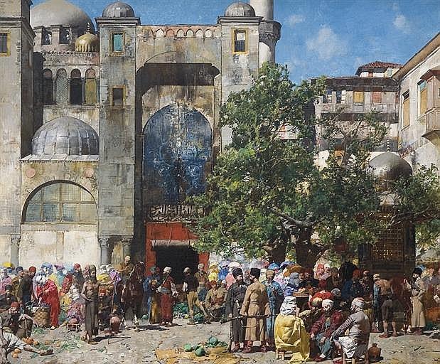 Alberto Pasini (Italian, 1826-1899)
