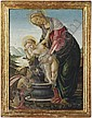 The Madonna and Child with the young Saint John the Baptist, Sandro Botticelli, Click for value