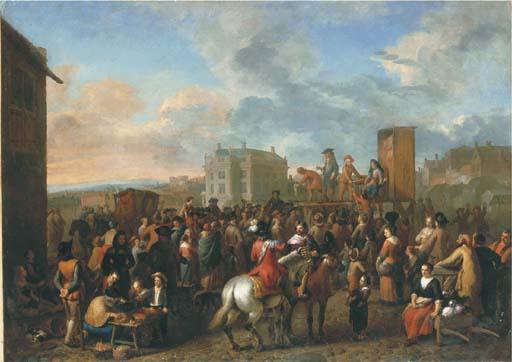 Gerard Hoet I (Zaltbommel, Gelderland 1648-1733 The Hague)