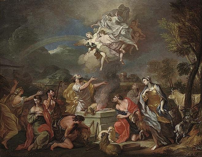 Attributed to Alessandro Marchesini (Verona 1664-1738)