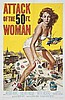ATTACK OF THE 50FT WOMAN   REYNOLD BROWN (1917-1991)