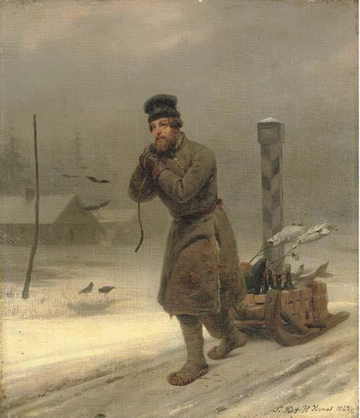 Émile Jean Horace Vernet (1789-1863)