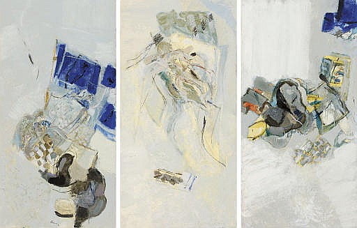 Chambre - La serviette bleue, 1977