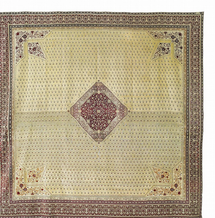 A HEREKE CARPET