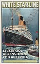 WHITE STAR LINE, LIVERPOOL - PHILADELPHIA