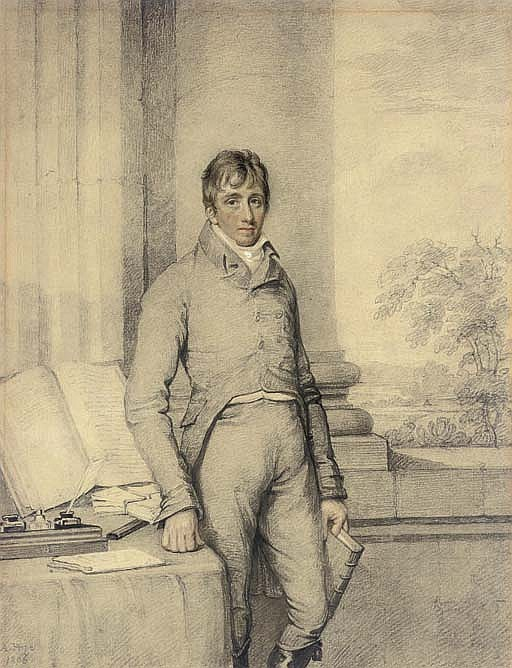 Portrait of William Gillies (1761-1845), three-quarter-length