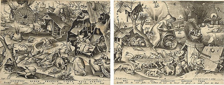 After Pieter Bruegel the Elder ( circa  1525-1569)