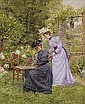 Dans le jardin, Marie-Francois Firmin-Girard, Click for value