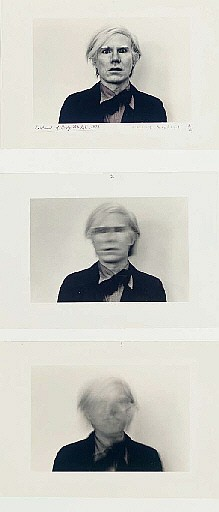 Portrait of Andy Warhol, 1973
