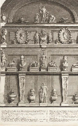 A PRINTED ALBUM OF THE GALERIE DU SR. GIRARDON, SCULPTEUR ORDINAIRE DU ROI