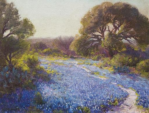 Path through the Bluebonnets