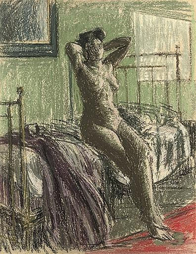 Nude Stretching: La Coiffure