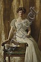 The Hon. John Collier (1850-1934)                                        , The Hon. John Collier, Click for value