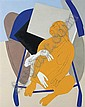 Untitled (Figure on Rickshaw) , Tyeb Mehta, Click for value