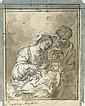 The Holy Family, Bartolome Esteban Murillo, Click for value
