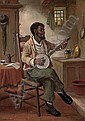 The banjo player, David W. Haddon, Click for value