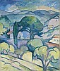 Paysage de Provence, l'Estaque, Georges Braque, Click for value
