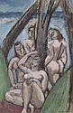 Untitled (Women in a Landscape) , Max Weber, Click for value