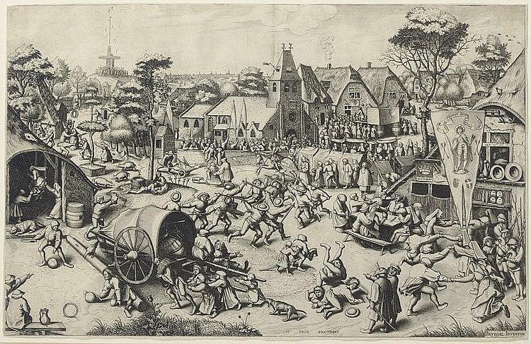 After Pieter Bruegel the Elder ( circa  1525-1569) by Jan or Lucas van Doetecum
