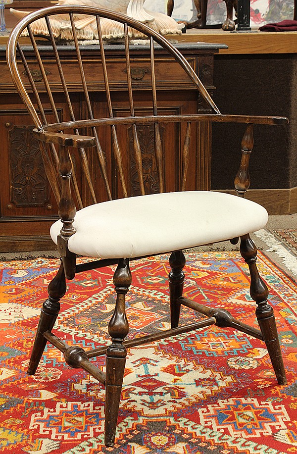 Windsor style arm chair