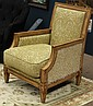 Regency style armchair by Hickory and White