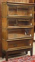 Globe Wernicke oak stackable barrister bookcase circa 1920