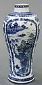 Chinese Export Blue-and-White Vase