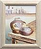 Painting, Richard Haines, Acoma Pottery