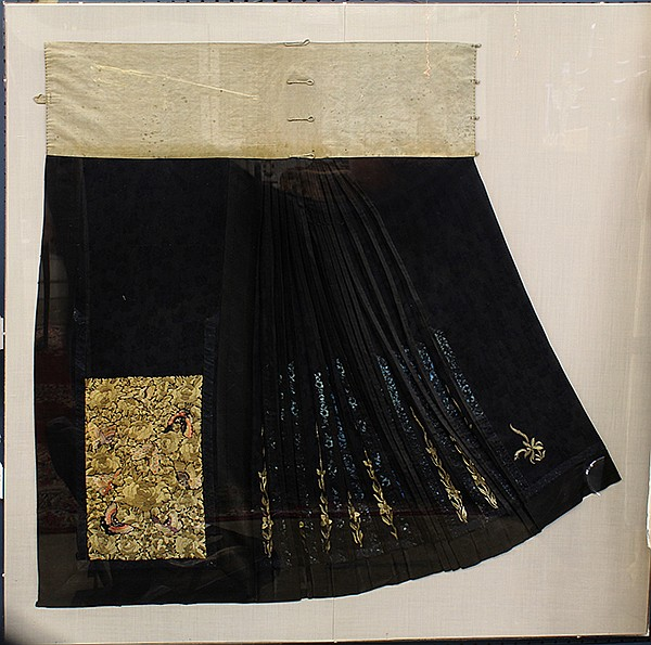 Chinese Woman's Skirt Panel