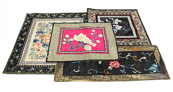Group of Chinese Textile Fragments (25)