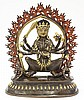Himalayan Bronze Buddhist Wrathful Deity
