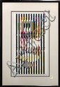 Serigraph, Yaacov Agam, Optic