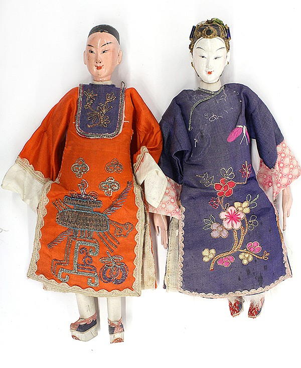 Two Chinese Dolls