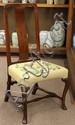 (lot of 3) Georgian side chairs