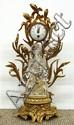 Louis XVI style gilt bronze mantle clock