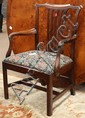 Chippendale dining chairs