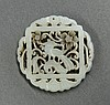 Chinese Jade Roundel, Bird