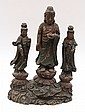 Chinese Lacquered Wood Buddhist Figure