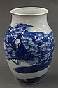 Chinese Blue-and-White Jar, Xiwangmu