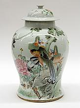 Chinese Porcelain Jar, Birds
