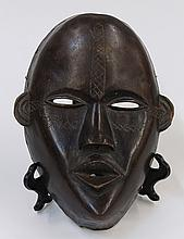 Mano people of the Dan Complex, Liberia and Cote d'Ivoire, fine featured mask