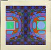 Prints by  Victor Vasarely, Victor Vasarely, $400