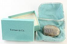 Tiffany & Co sterling silver pill box