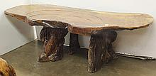Chinese Wood Tea Table