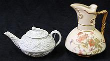 (lot of 2) Porcelain group
