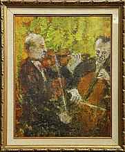 Painting, Cellists