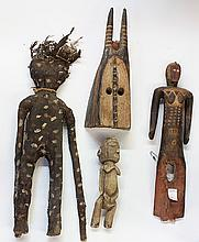 West African sculptures